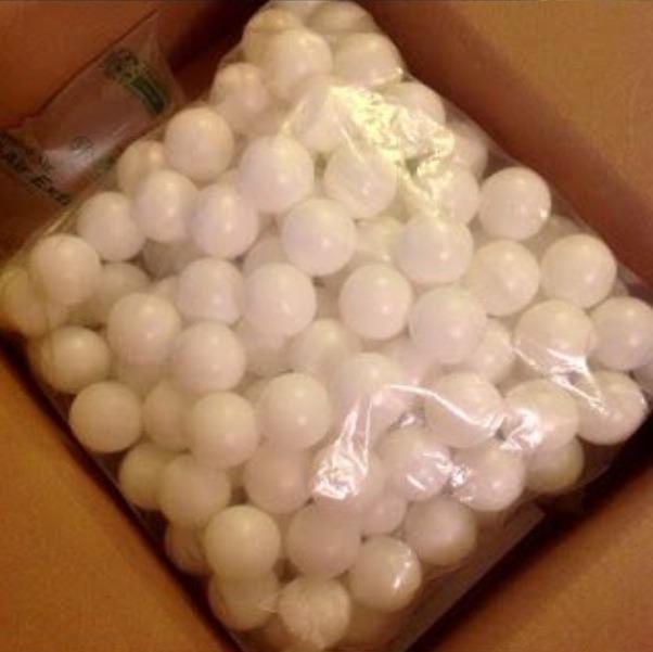 Get some ping pong balls. C: