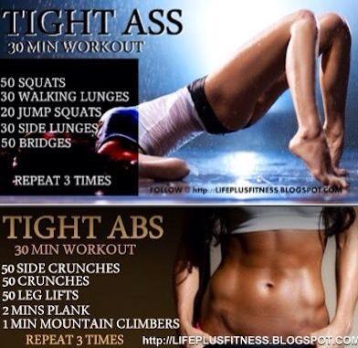 Lift that butt,get them abs #bikiniready