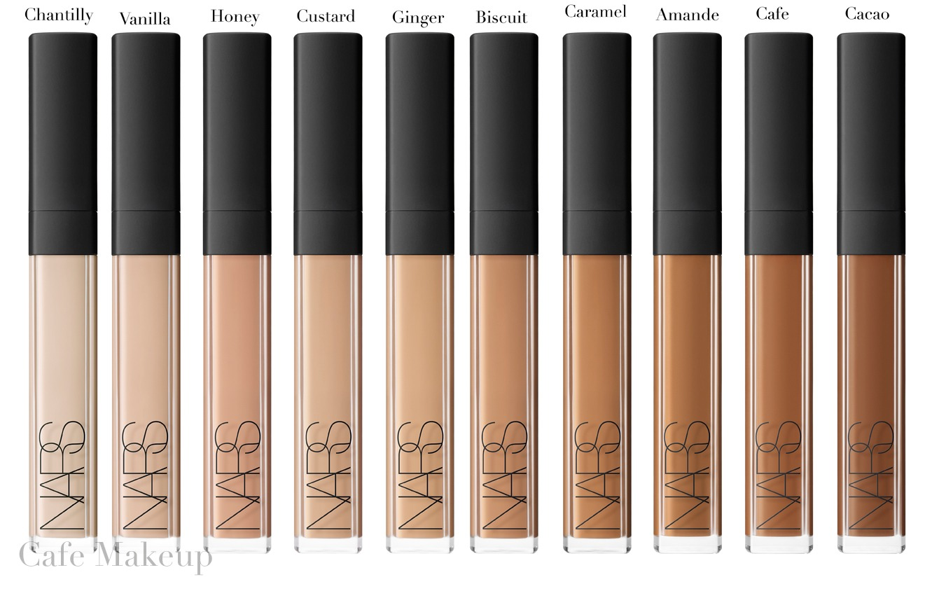 Concealers tend to have a heavy consistency, so it's important to apply it after you've applied your foundation, which many people do not do. You'll find that your base makeup will generally take care of most of your concerns, so concealer is just that added insurance