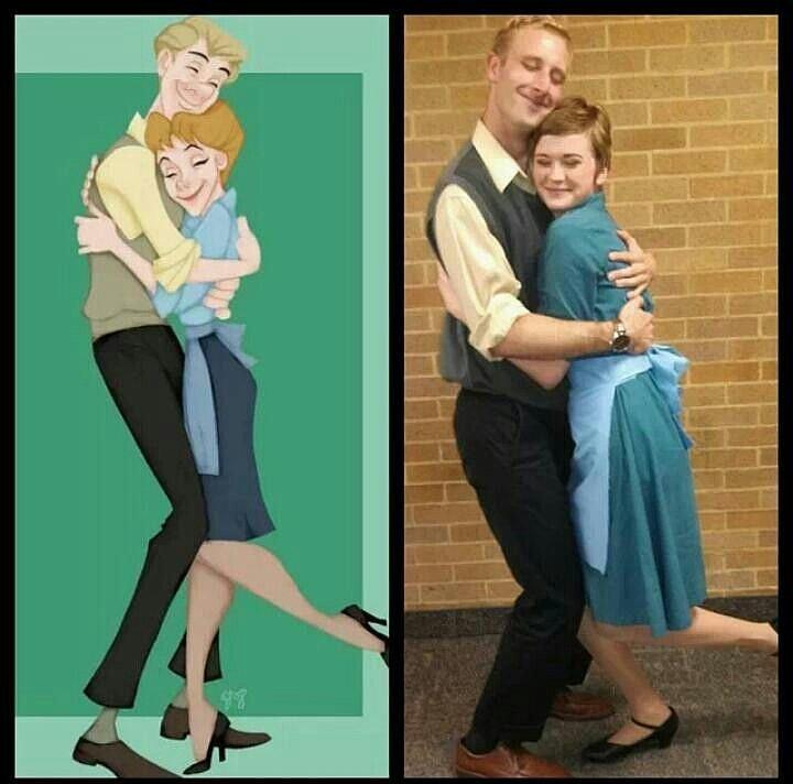 Roger and Anita From 101 Dalmatians