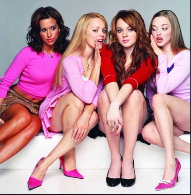 Mean girls Who Doesn't like mean girls it's a perfect rom com girly movie