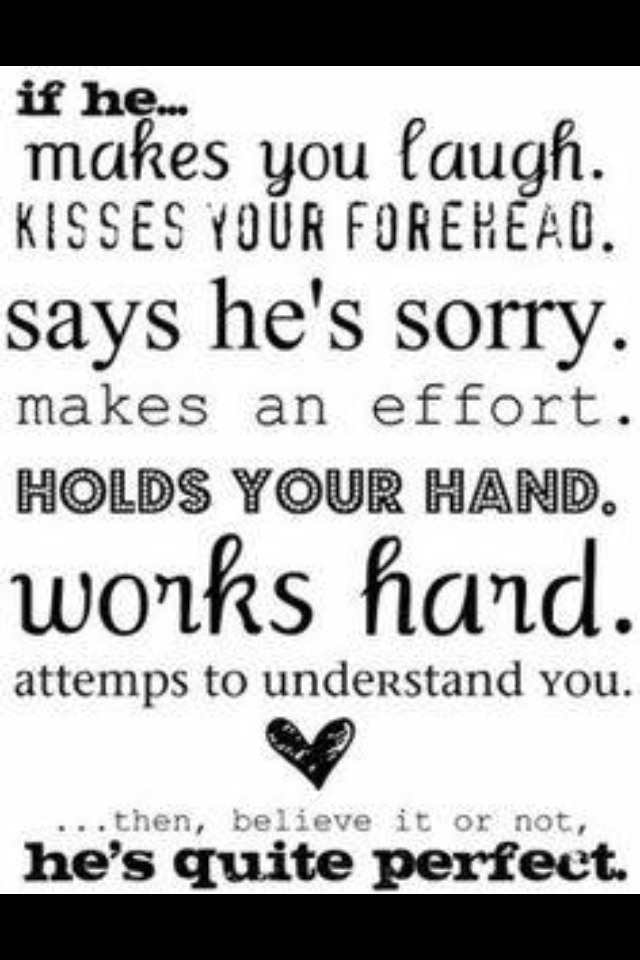 A boyfriend who always does this 😘
