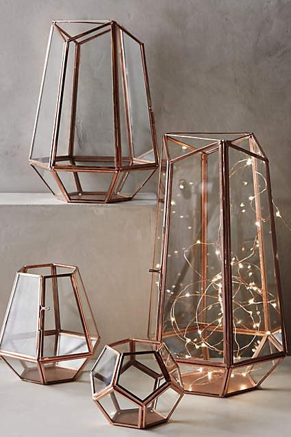 10. This trick also works with a geometric lantern or terrarium.