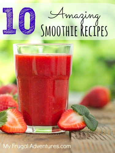 Berry smoothie  ( you can choose the portion size as it depends on the size of smoothie you are making) Strawberries  Frozen berries eg blackberries Cranberry juice Mint Raspberry or plain yoghurt Ice