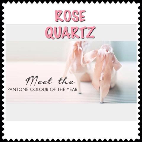 Meet Rose Quartz one of the shades in the #PantoneContest
