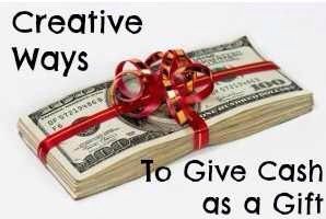 Creative Ways To Give Money For Christmas Present.Diy Creative Ways To Give Cash As A Gift By Ali
