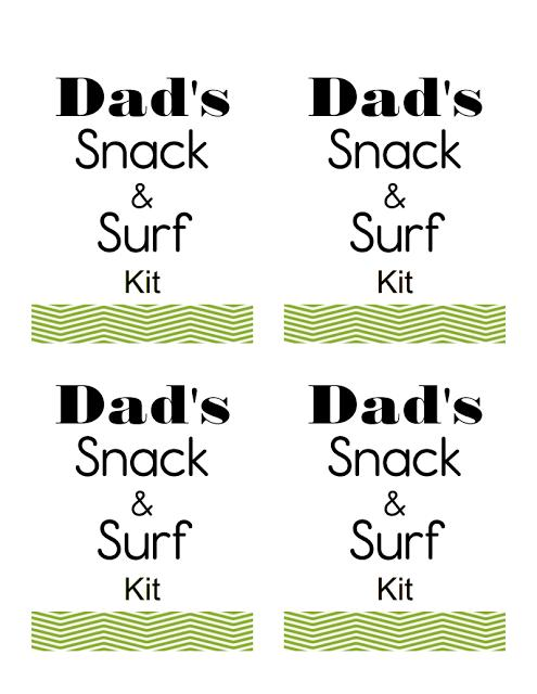 Designed this tag so you can print one off for your very own kit for Father's Day.