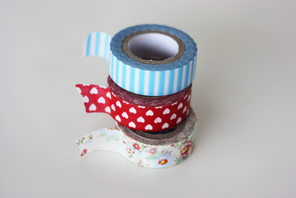 . Fold the tape in from both sides and seal it with some tape around both ends. That's it!