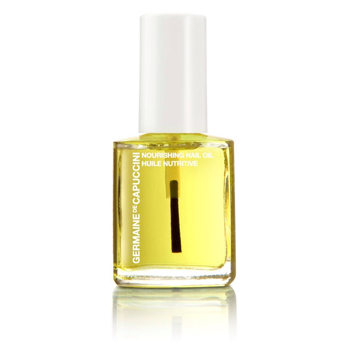 Once you have done that on your cuticles put on a little bit of nourishing oil to maintain you cuticle and keep your hands looking nice.