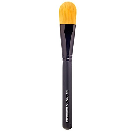 Time to upgrade to a foundation brush – a handy tool that surprisingly works way better than your upper ten little piggies. It will help you blend your foundation perfectly, ensuring precision you can't get if you're using hands or sponge, leaving no mess to clean up!
