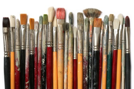 Soak old paint brushes in vinegar for 30 minutes and they will become good as new!
