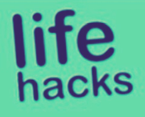 Want to find where all the life hacks are??  Go to 1000lifehacks.com