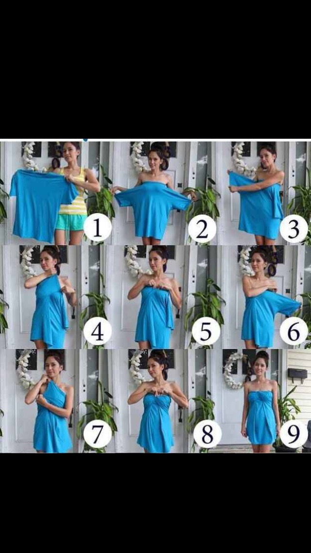How to make a sundress out of a T-shirt