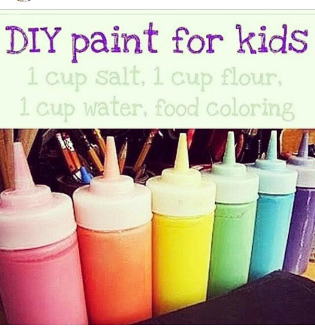 Diy paints for kids 🎨🎨🎨