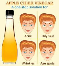 Vinegar (ACV) has amazing health benefits and you can use it to treat skin problems such as: age spots, acne, pimples as well as other skin conditions
