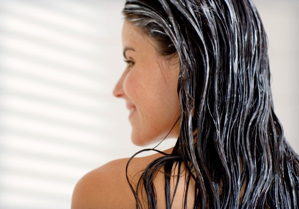 Tip #3 Apply conditioner from mid-lengths to ends. Conditioning your roots will weigh your hair down.