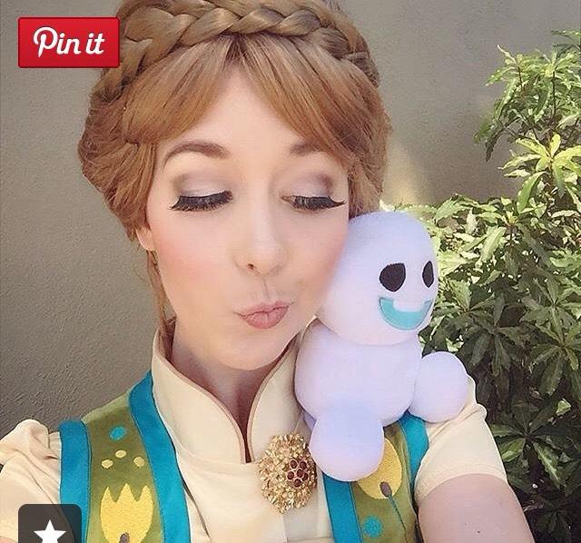 Anna from frozen