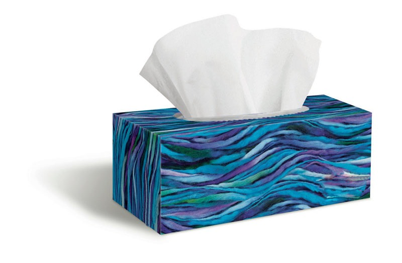 For clean up just simply wipe away with a tissue