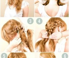 Try new hair styles look some on YouTube and start
