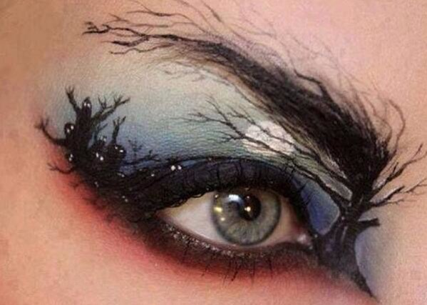 Amazing eye makeup!