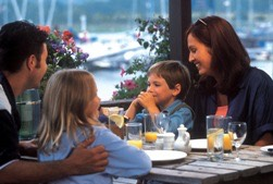 3.) going out to eat with the family, enjoy a nice meal and sit with the family and talk about anything (if you don't feel like going out order or make something and eat at a dinner table.)