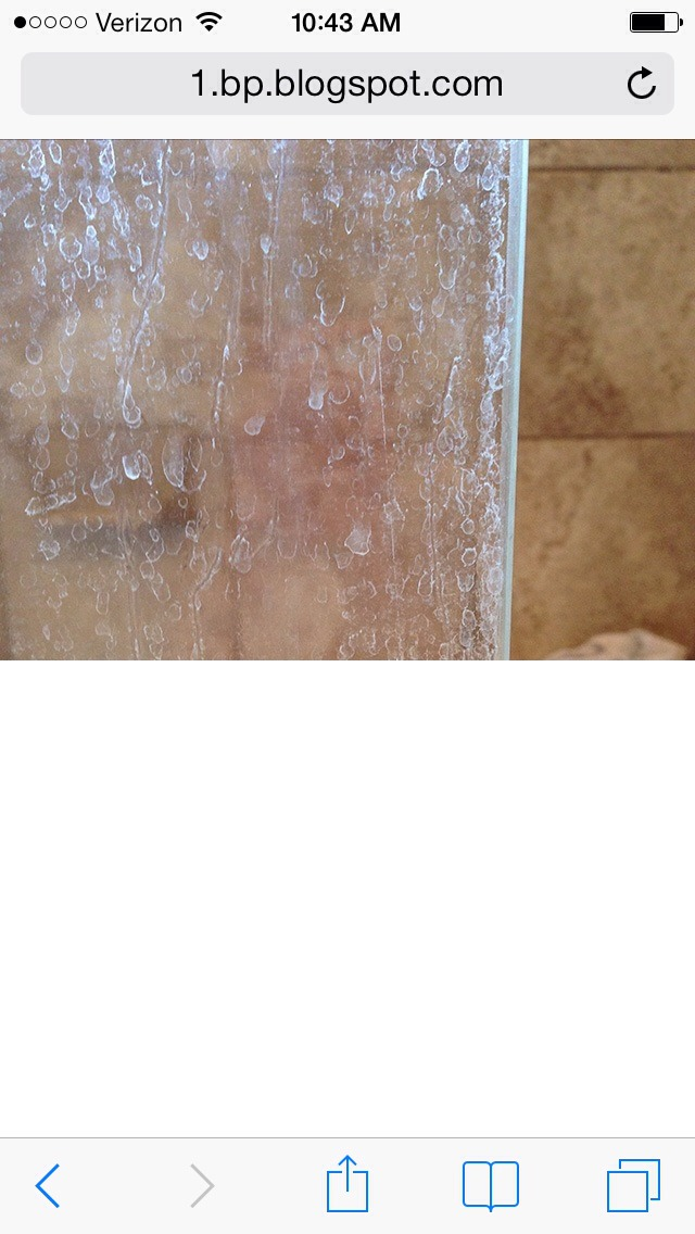 Cleaning hard water stains is a huge pain.