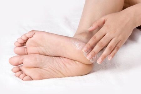 8. Dry feet: If you have dry feet, there is a very effective OVERNIGHT solution for you! Cover your feet in lotion, and wrap a plastic bag around each foot. Throw on some fuzzy socks, and go to sleep! When you wake up, your feet will be much softer!