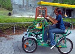 Biking rentals at the zoo
