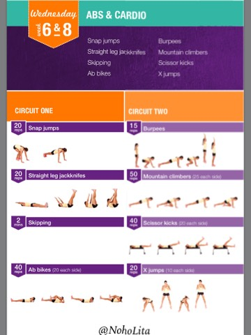 7 minute workout challenge free download