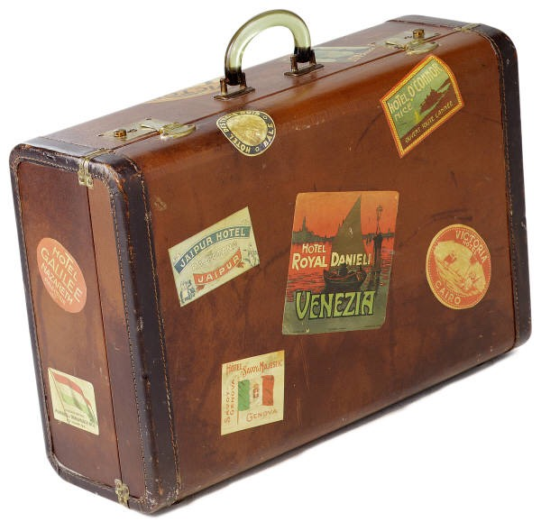 Use a suitcase for your heavier items. this way you can roll them and carry them easier. Avoid the broken back!