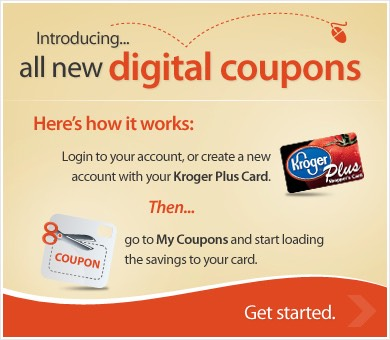 Just sign up at Kroger.com is that's easy as that. Every Friday there's a FREE item and plus there coupons u can add up in your Kroger card.