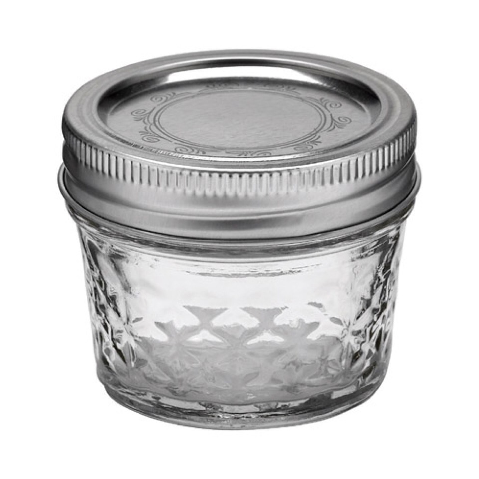 Than add your mixture to an empty jar of some sort. I prefer to use a small mason jar!