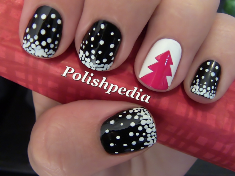 Cute Thanksgiving and Christmas nail designs - Musely