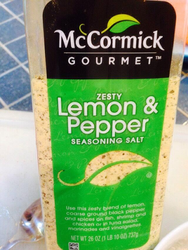 2 tbs of lemon pepper