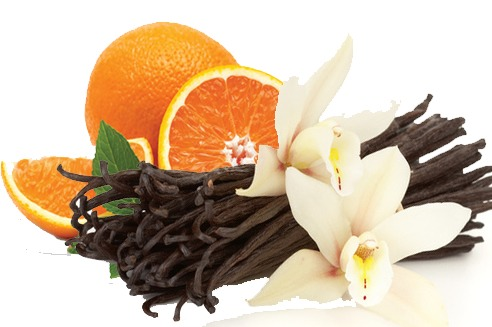 #2 Orange peels, Drops of vanilla:)
