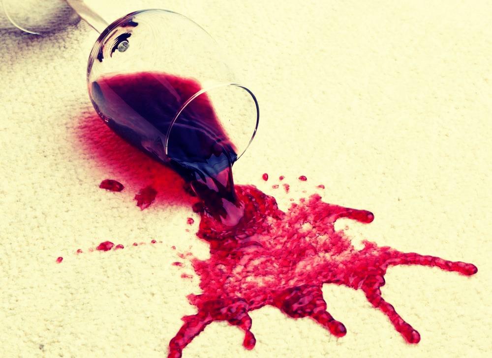 Make your own carpet cleaner using baking soda, vinegar, dish washing liquid, and warm water!
