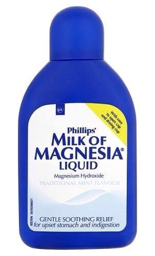 Did you know you can use Milk of magnesia for  1,acne 2,deodorant 3,face primer 4.sunburn