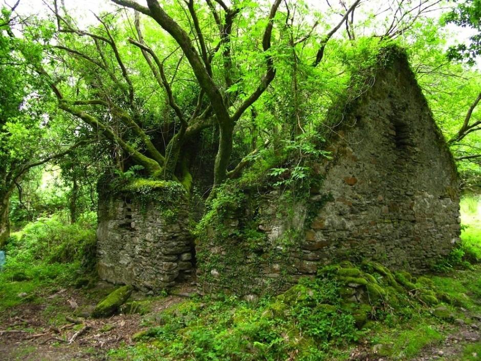 Kerry Way walking path between Sneem and Kenmare, Ireland