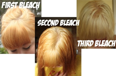 To start if you have dark hair use bleach. The more times you bleach the better the colour will turn out. Make sure you keep it in for a good amount of time and wash it out really well.