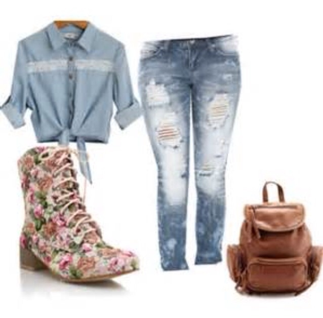 1375bc83a6 Cute Back To School Outfits!🎀 by Mariah ~ - Musely