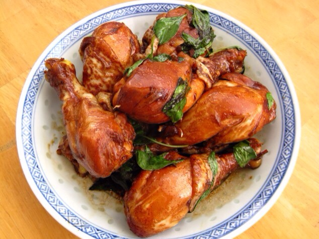 Taiwanese Three Cup Chicken