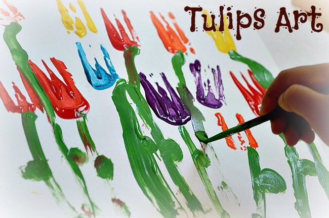 This is a great idea if you kids love to paint. These are super easy to paint and are super creative 😊