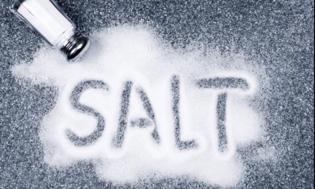 And salt