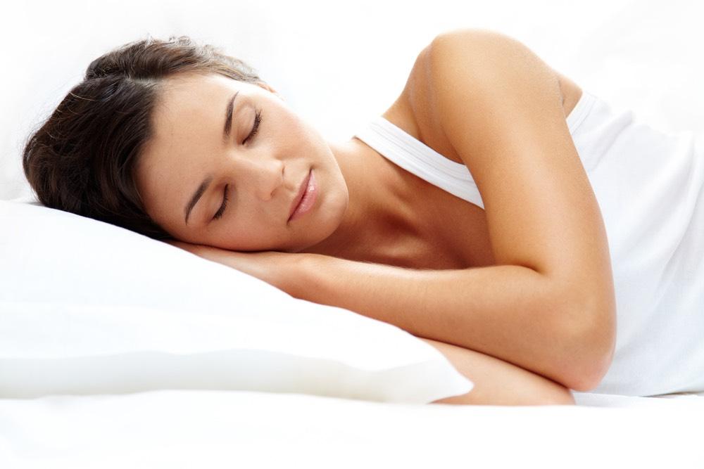 Make sure you get enough sleep at night (sleeping burns calories!)