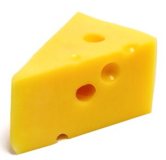 Cheese and butter!! Both pretty much blocks of fat