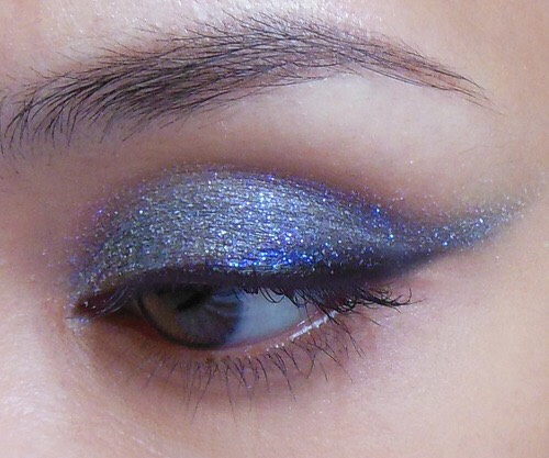 To make your (powder) eyeshadow look thicker and creamier, when you have the eyeshadow on your brush, spray water (setting spray works as well) onto the eyeshadow and then apply. This will make your eyeshadow stand out a lot more! [this actually works!]