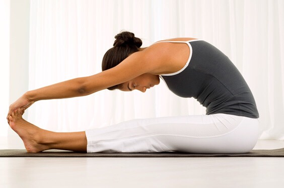 Stretch for 10 minutes 3-5 times a day