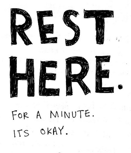 Take frequent short breaks