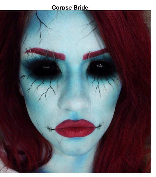Incredible Halloween Makeup Transformation Ideas