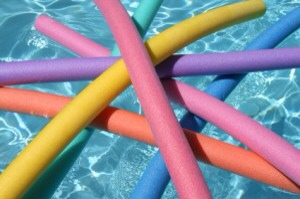 And lastly, it's intended use...a pool float! Happy Summer!